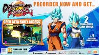 Super Saiyan Blue Goku and Vegeta in Dragon Ball FighterZ image #1