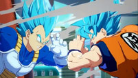 Super Saiyan Blue Goku and Vegeta gameplay screenshots image #3