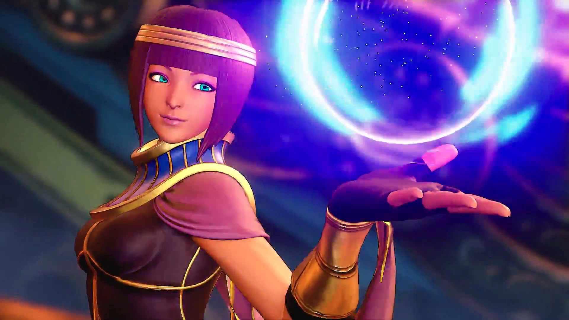 Menat announced for Street Fighter 5 reveal images 3 out of 6 image gallery