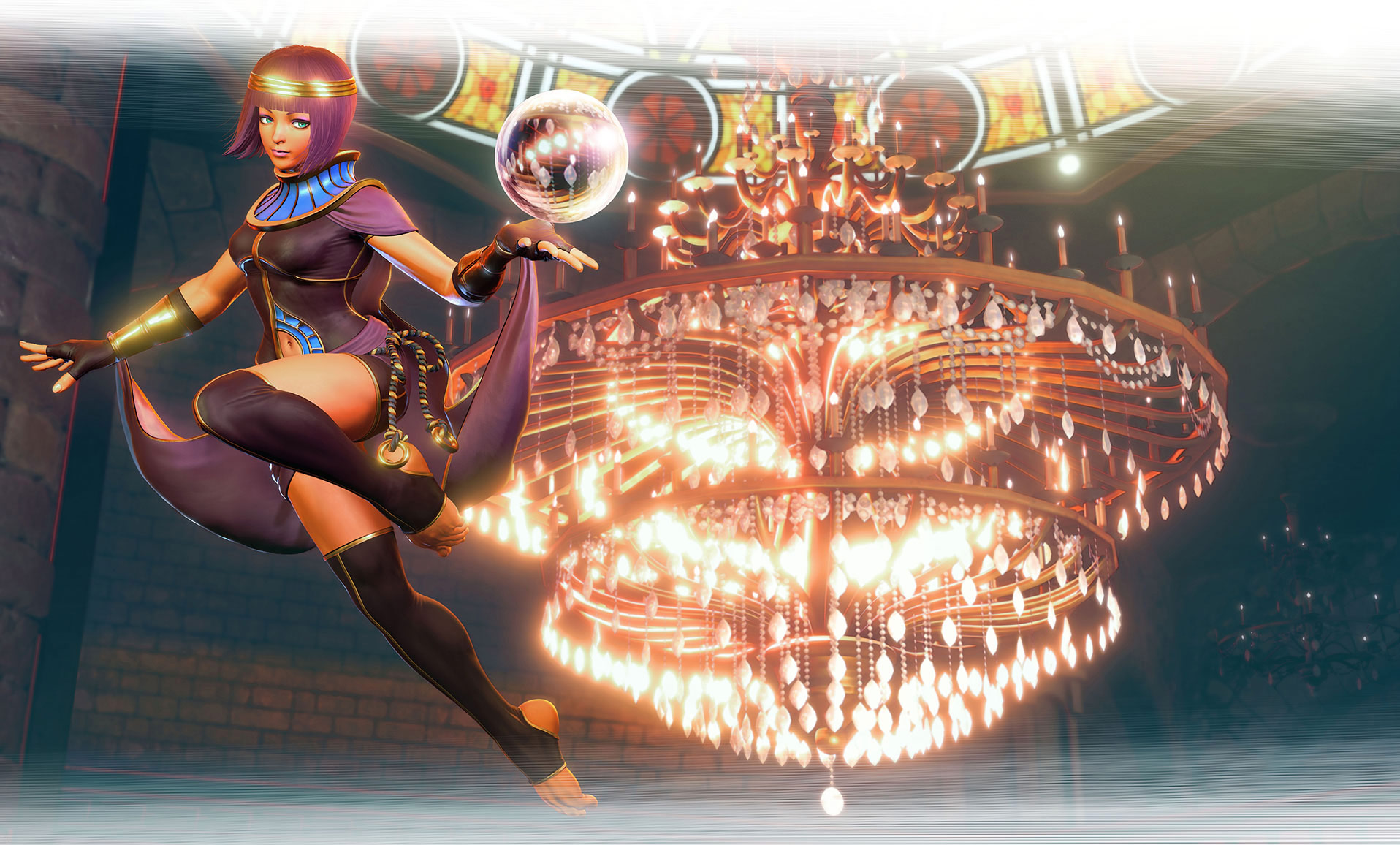 Menat in Street Fighter 5 1 out of 11 image gallery