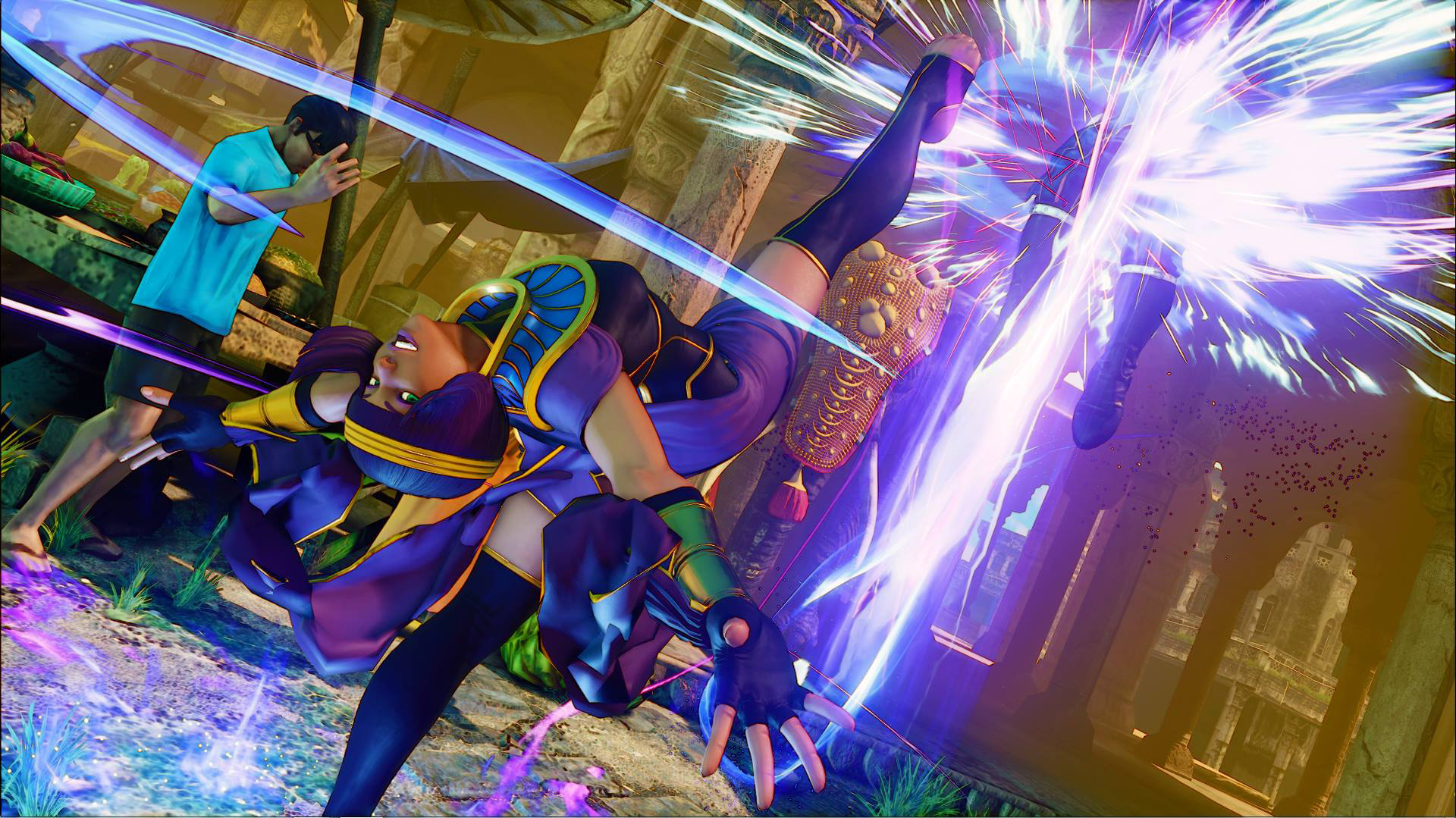 Menat in Street Fighter 5 7 out of 11 image gallery