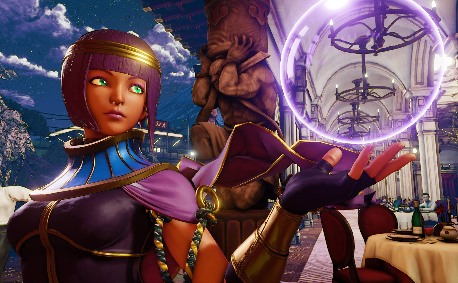 Menat in Street Fighter 5 10 out of 11 image gallery