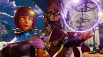 Menat in Street Fighter 5  out of 11 image gallery