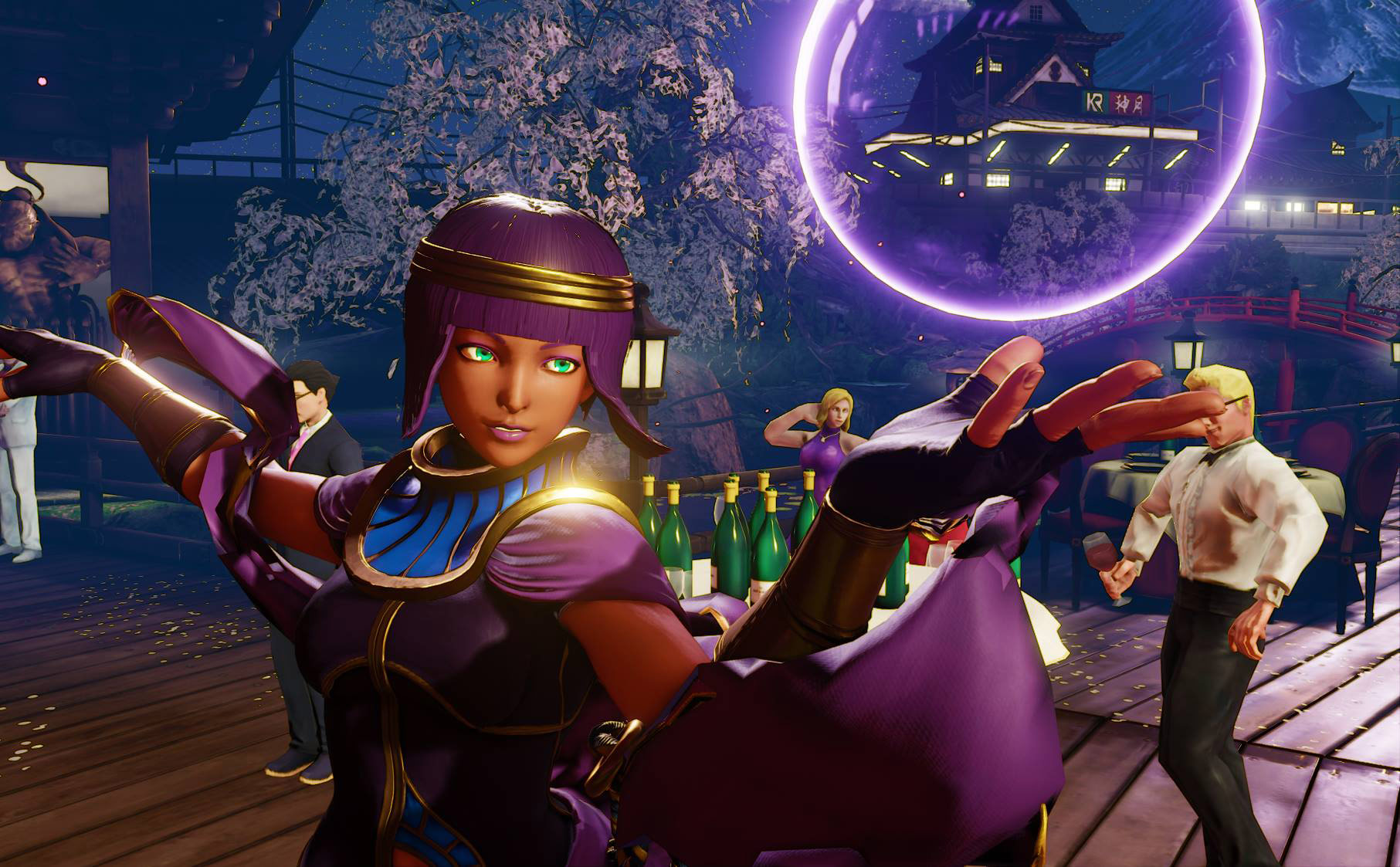 Menat in Street Fighter 5 11 out of 11 image gallery