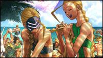 Panzer's fighting game artwork image #1