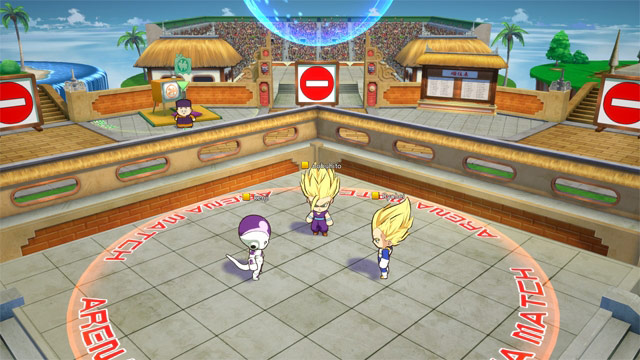 Dragon Ball FighterZ Lobby 2 out of 6 image gallery