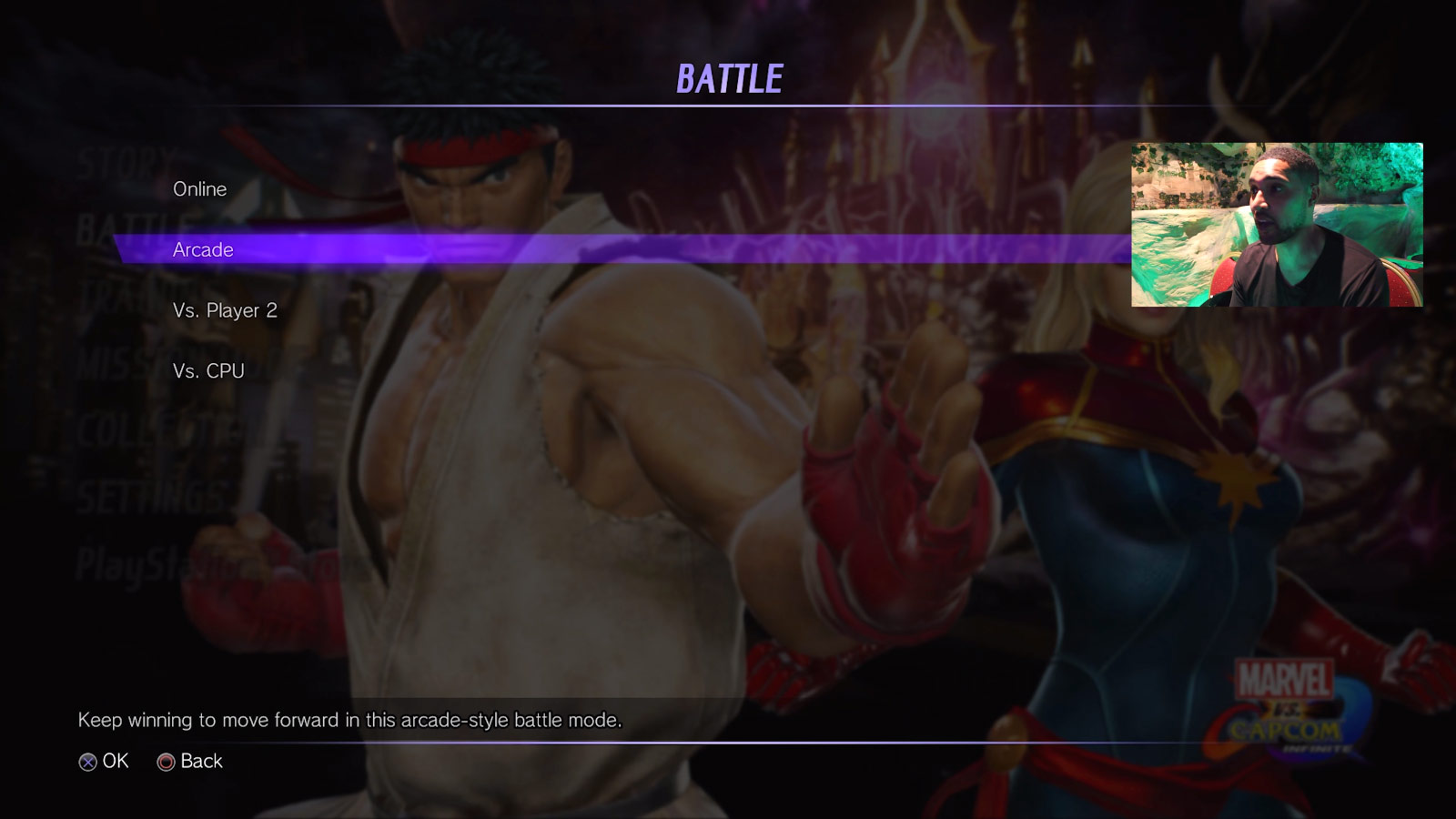 Marvel vs. Capcom: Infinite character select screen and menus 2 out of 6 image gallery