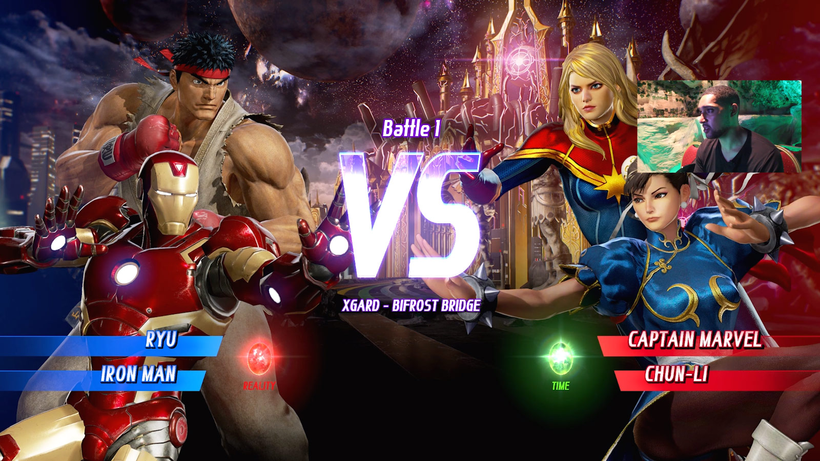 Marvel vs. Capcom: Infinite character select screen and menus 6 out of 6 image gallery