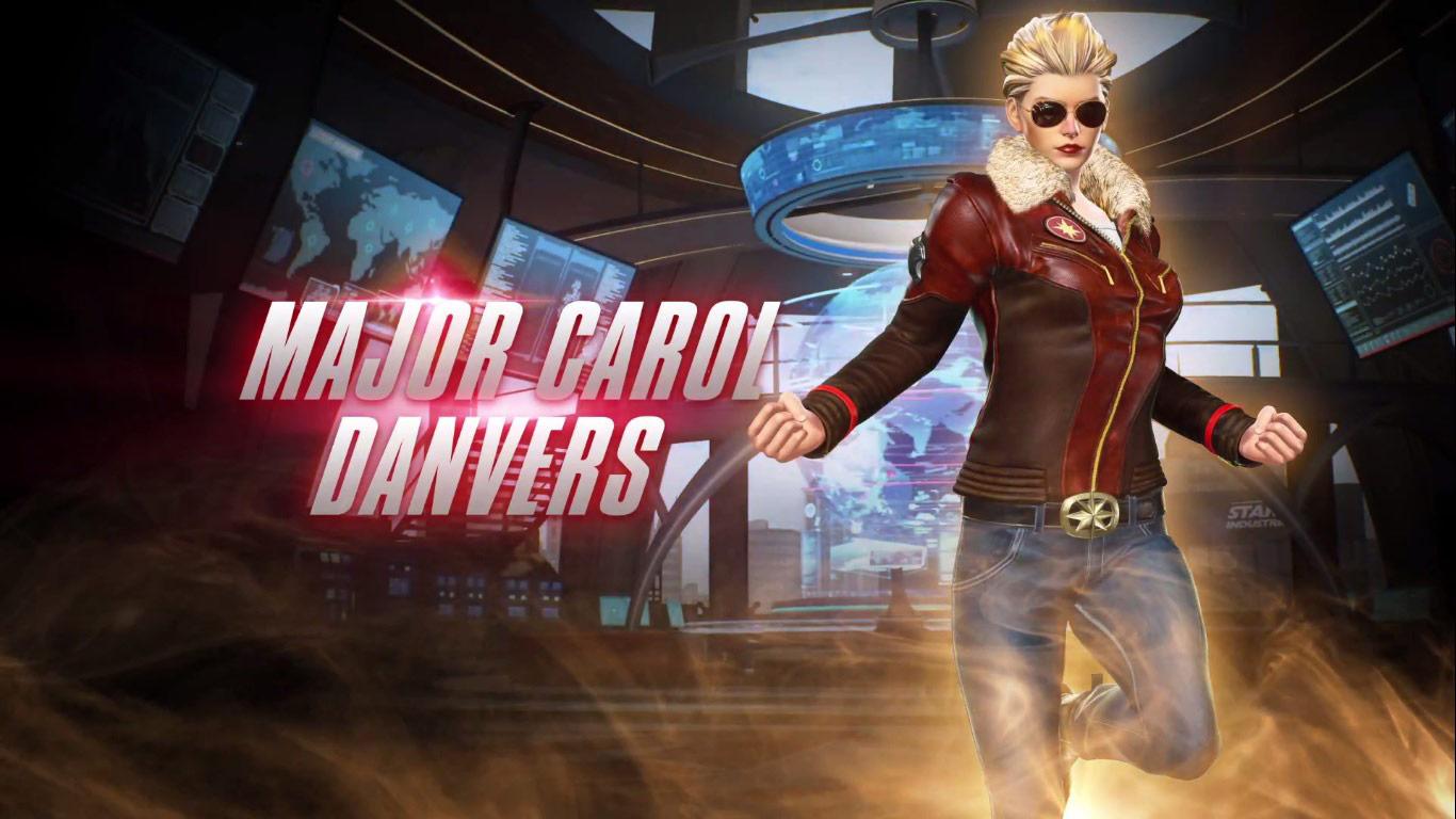 Captain Marvel's Major Carol Danvers costume in Marvel vs. Capcom: Infinite 1 out of 3 image gallery