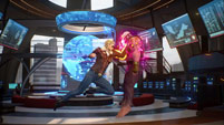 Captain Marvel's Major Carol Danvers costume in Marvel vs. Capcom: Infinite image #3