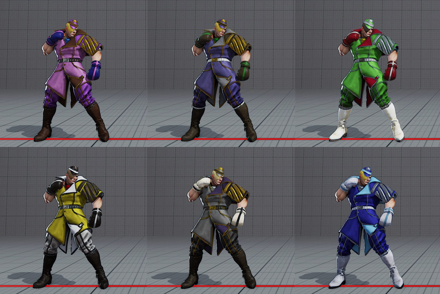 Ed's costumes and colors in Street Fighter 5 2 out of 6 image gallery