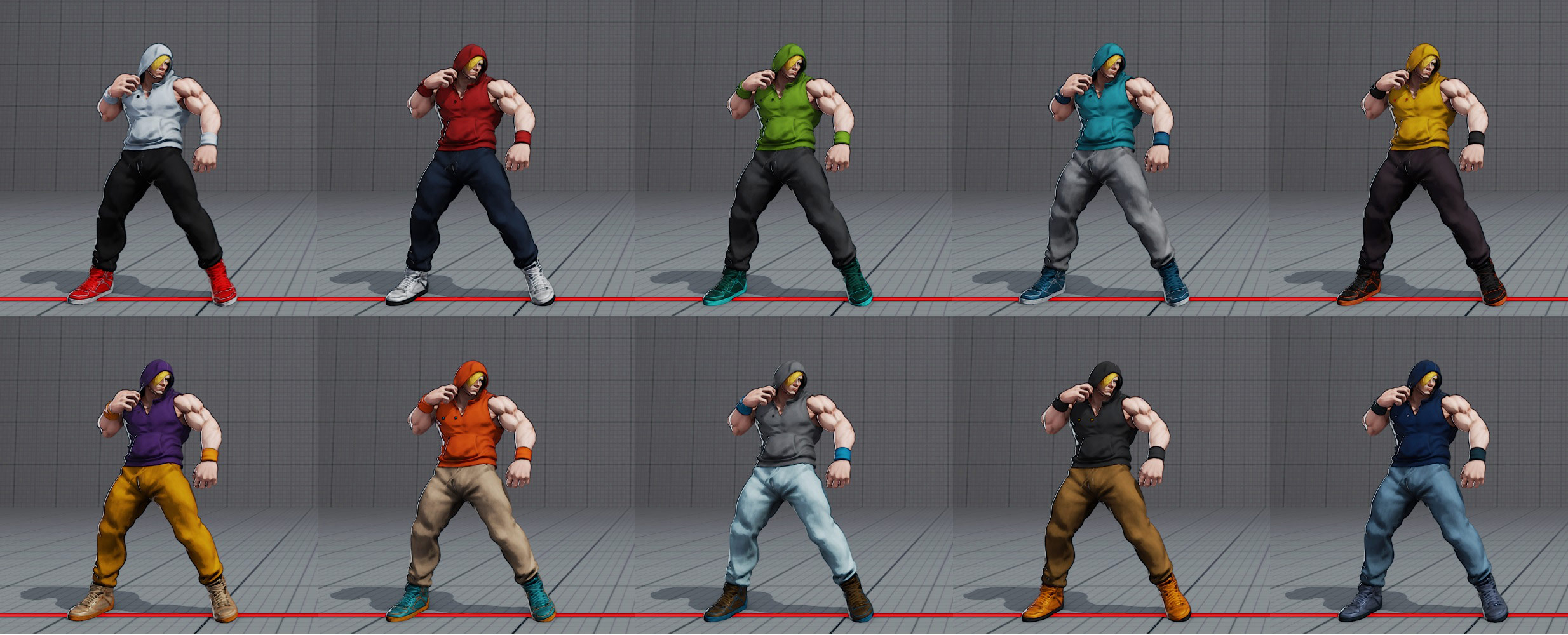 Ed's costumes and colors in Street Fighter 5 3 out of 6 image gallery