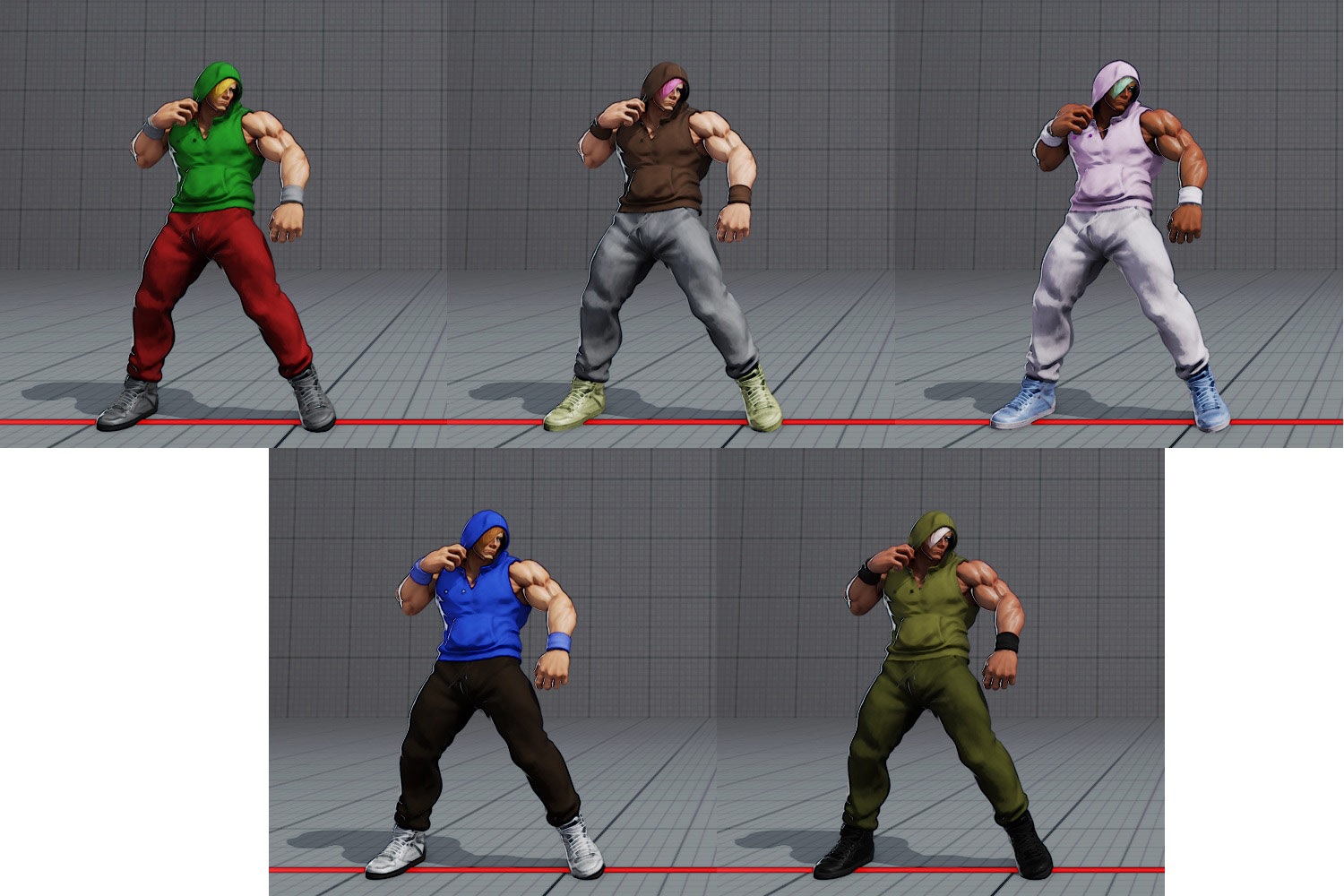 Ed's costumes and colors in Street Fighter 5 4 out of 6 image gallery