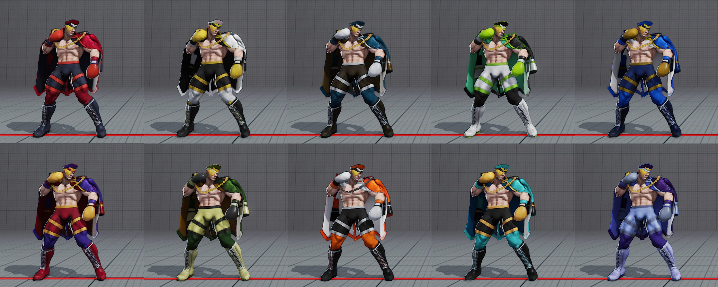 Ed's costumes and colors in Street Fighter 5 5 out of 6 image gallery