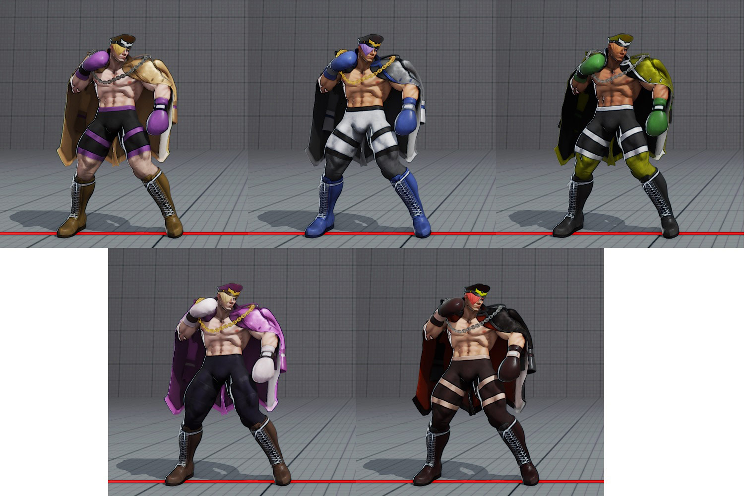 Ed's costumes and colors in Street Fighter 5 6 out of 6 image gallery