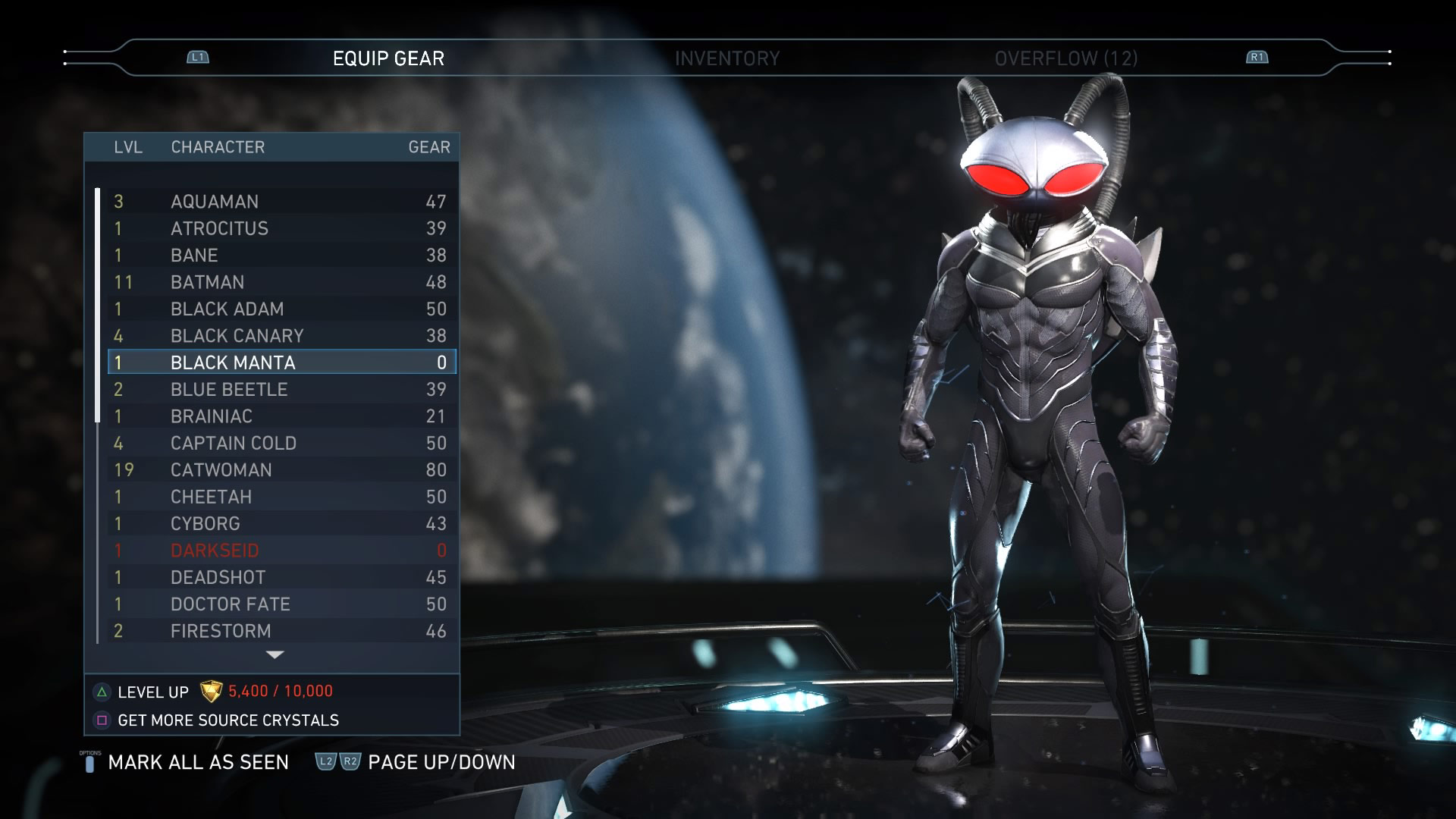Black Manta screenshots in Injustice 2 1 out of 7 image gallery