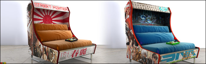 These Arcade Sofas Could Provide The Comfort Needed For Optimal Gameplay While Playing Fighting Games