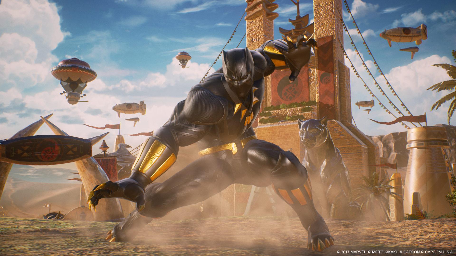 Pantera Negra en Marvel vs. Capcom: Infinite
