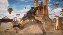 Black Panther and Sigma in Marvel vs. Capcom: Infinite image #1