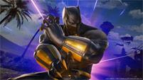 Black Panther and Sigma in Marvel vs. Capcom: Infinite image #2