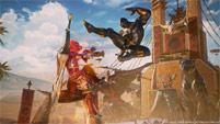 Black Panther and Sigma in Marvel vs. Capcom: Infinite image #3