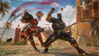Black Panther and Sigma in Marvel vs. Capcom: Infinite image #4