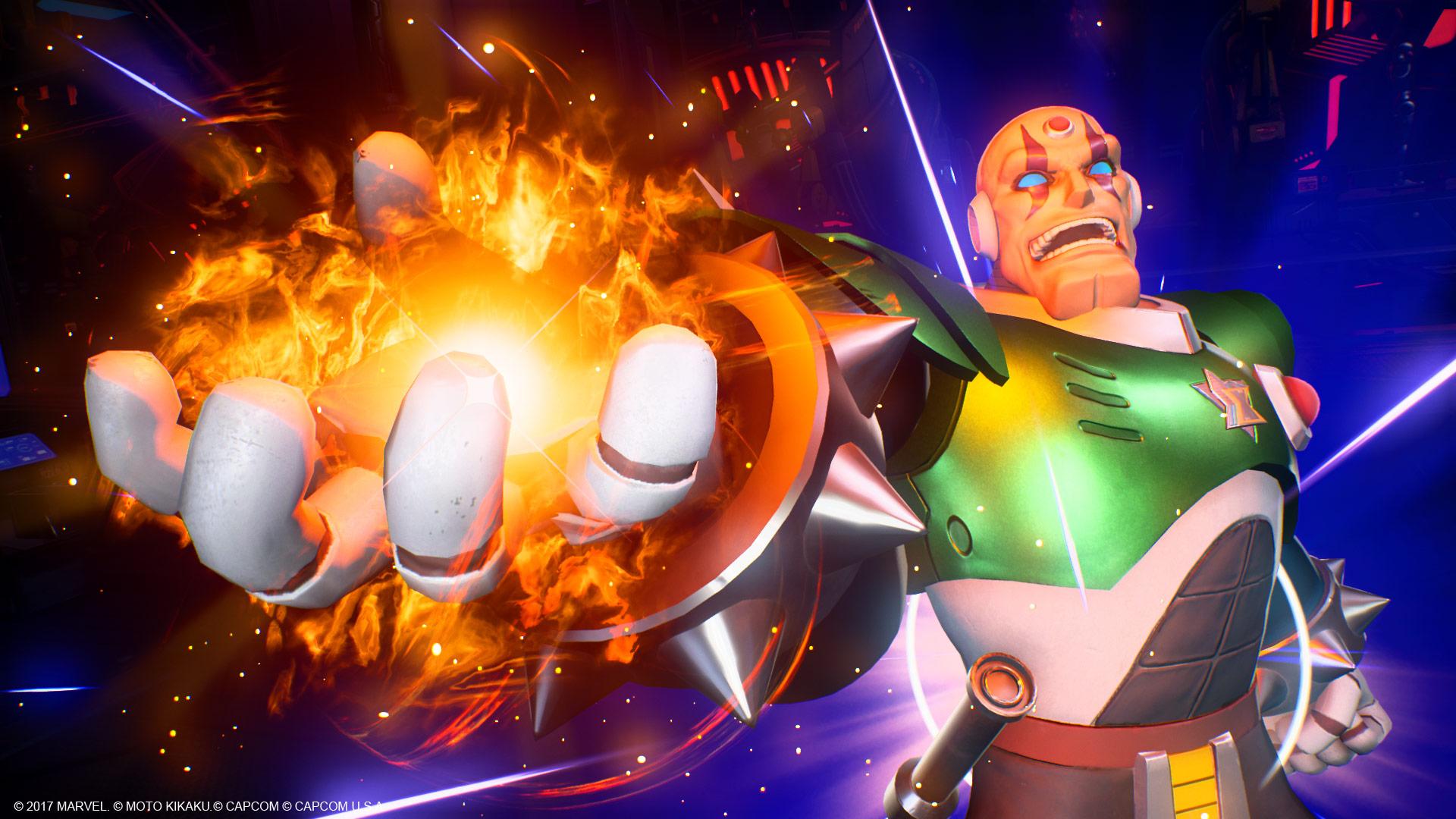 Sigma en Marvel vs. Capcom: Infinite