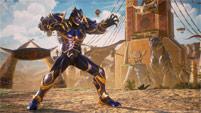 Black Panther and Sigma in Marvel vs. Capcom: Infinite image #9