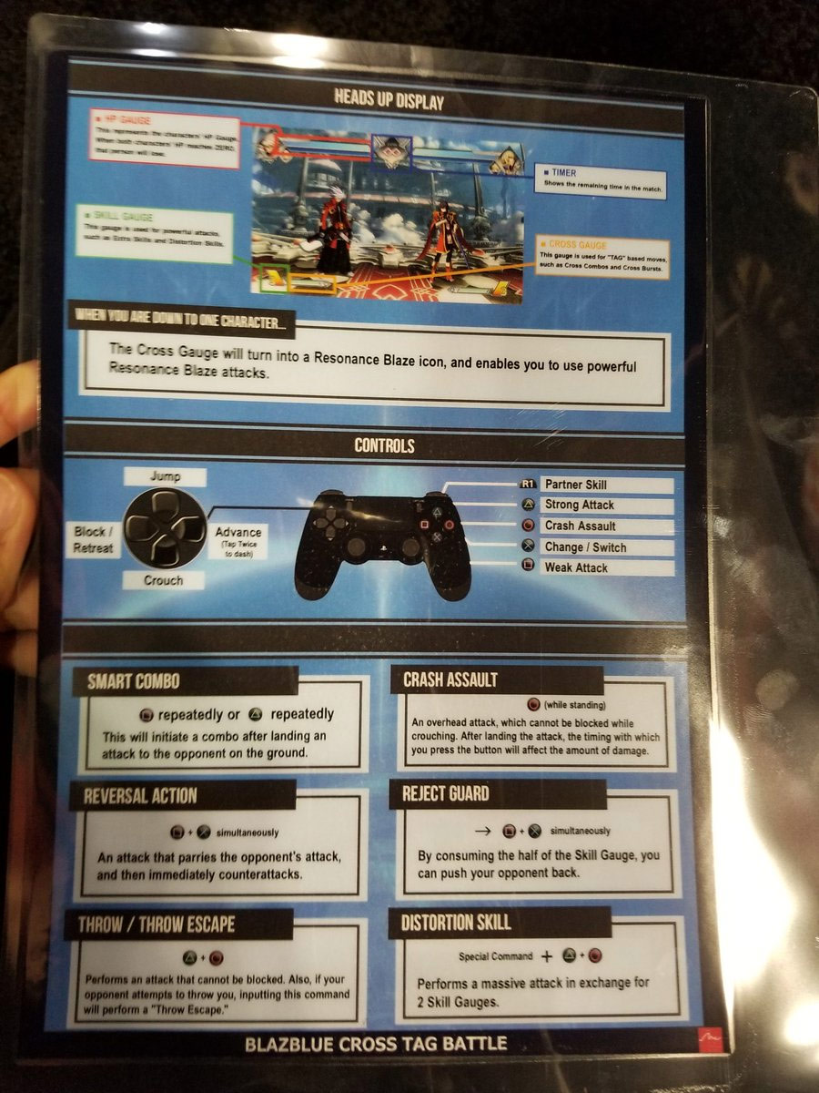 BlazBlue Cross Tag Battle controls and game mechanics 1 out of 2 image gallery