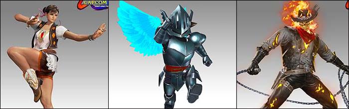 New Marvel vs  Capcom: Infinite premium costumes coming tomorrow