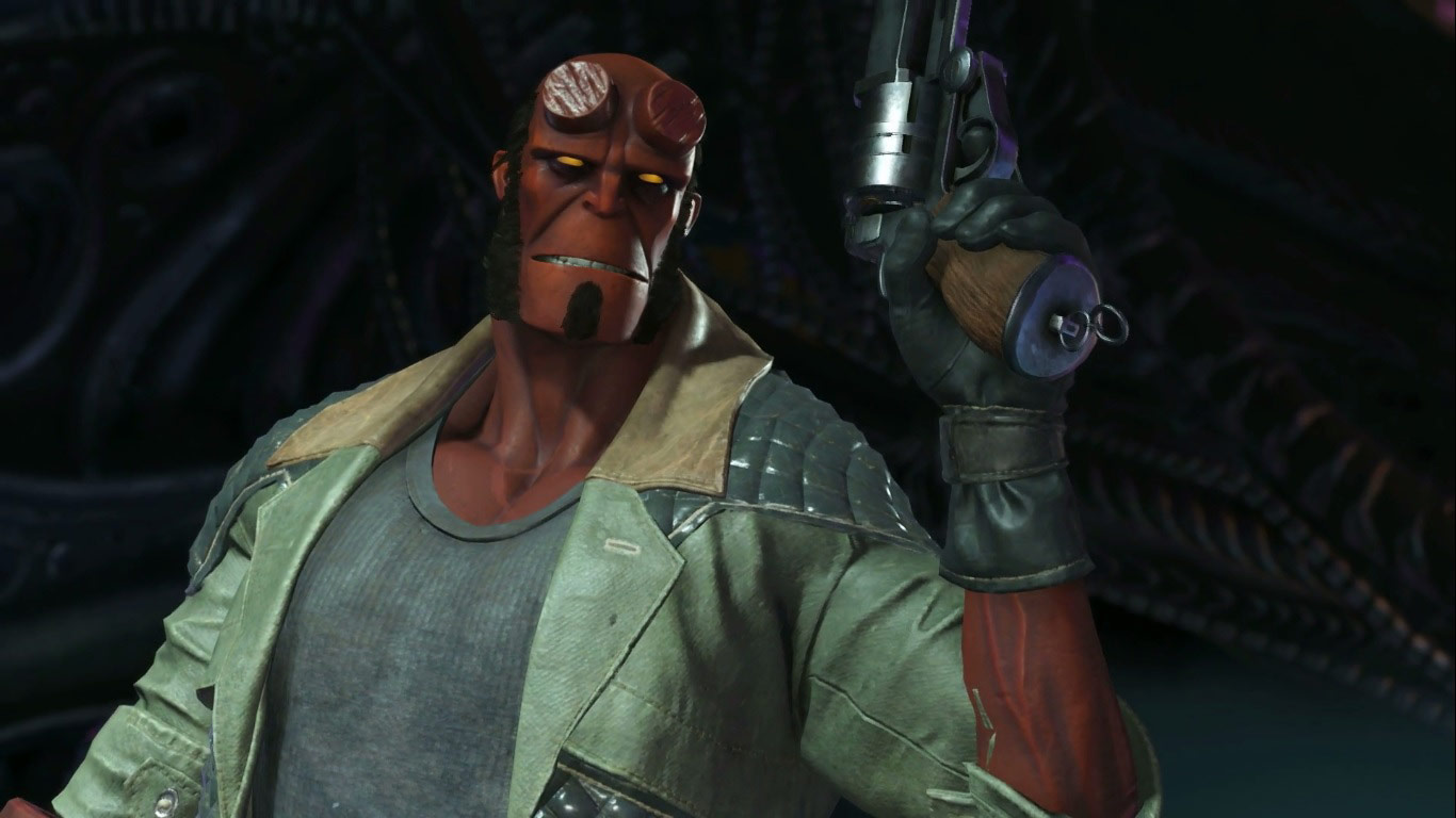 Hellboy in Injustice 2 2 out of 6 image gallery