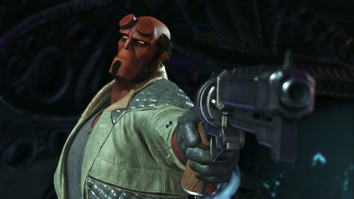 Hellboy in Injustice 2 3 out of 6 image gallery