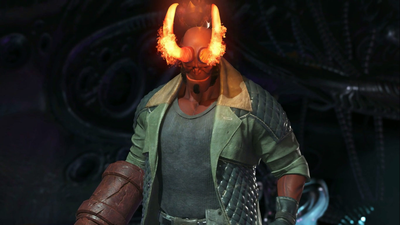 Hellboy in Injustice 2 5 out