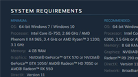 Injustice 2 PC beta system requirements image #1