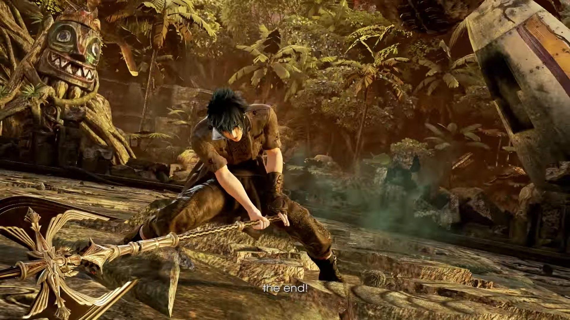 Tekken 7 Noctis Lucis Caelum Reveal Screenshots 8 out of 9 image gallery