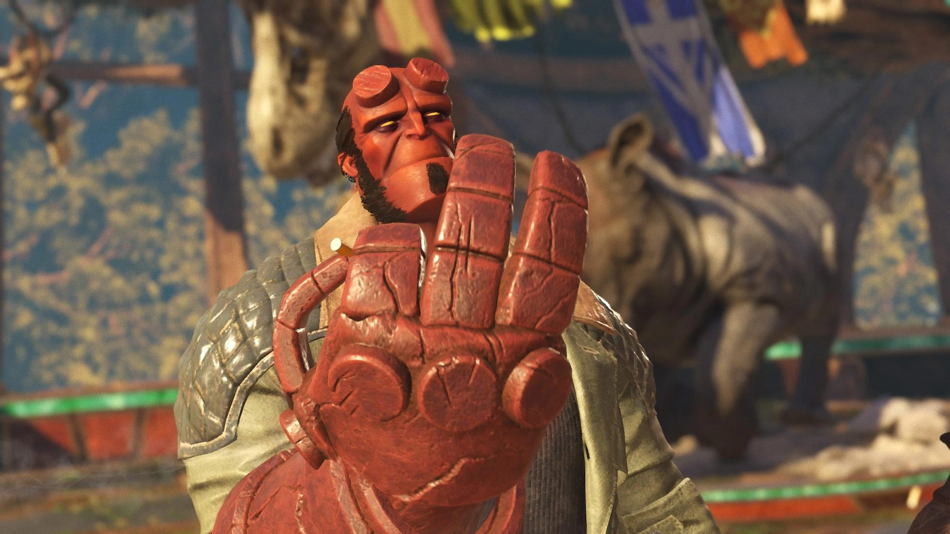 Hellboy in Injustice 2 2 out of 9 image gallery