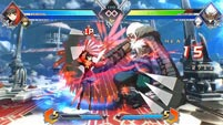 BlazBlue Cross Tag Battle - Azrael, Gordeau, and Yukiko image #3