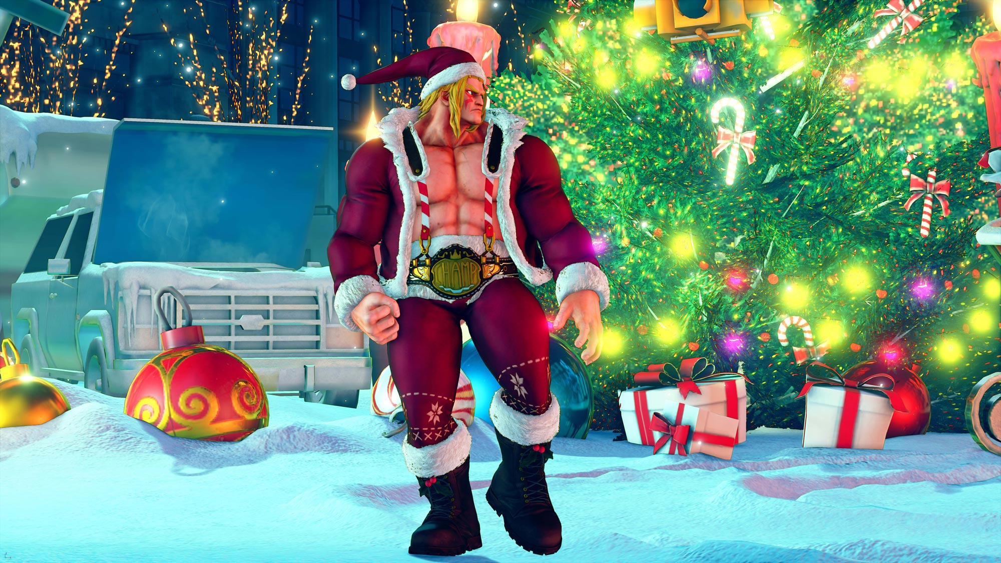New hoilday and classic costumes in Street Fighter 5 1 out of 10 image gallery