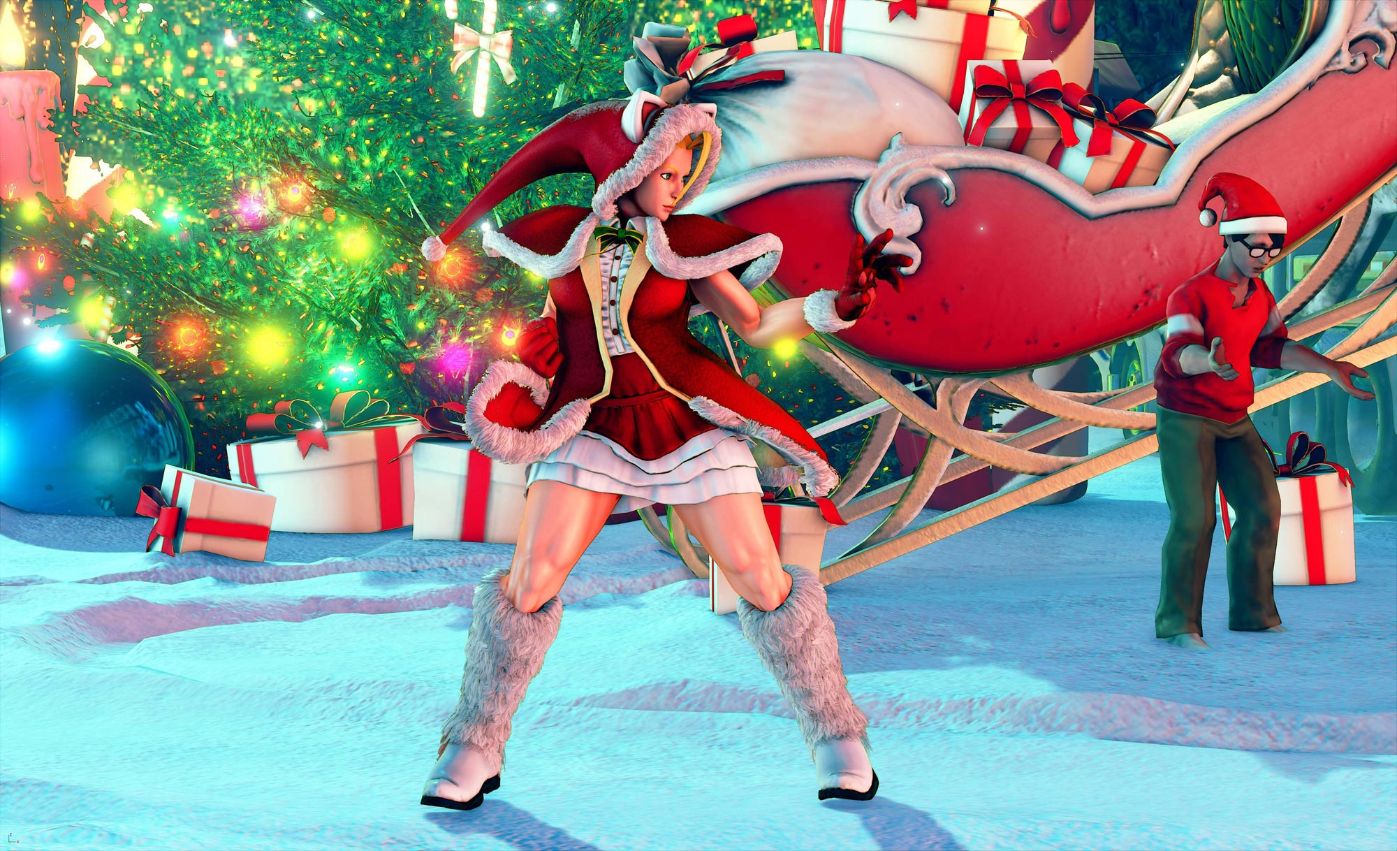New hoilday and classic costumes in Street Fighter 5 2 out of 10 image gallery