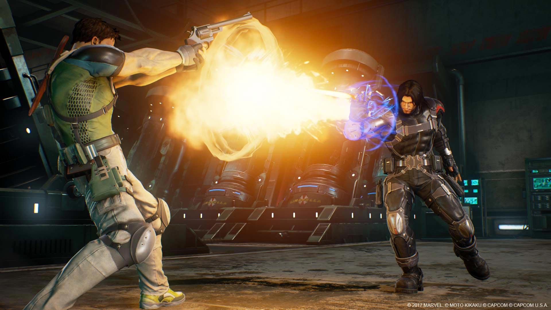 Venom, Black Widow, and Winter Solider in Marvel vs. Capcom: Infinite screenshots 4 out of 13 image gallery