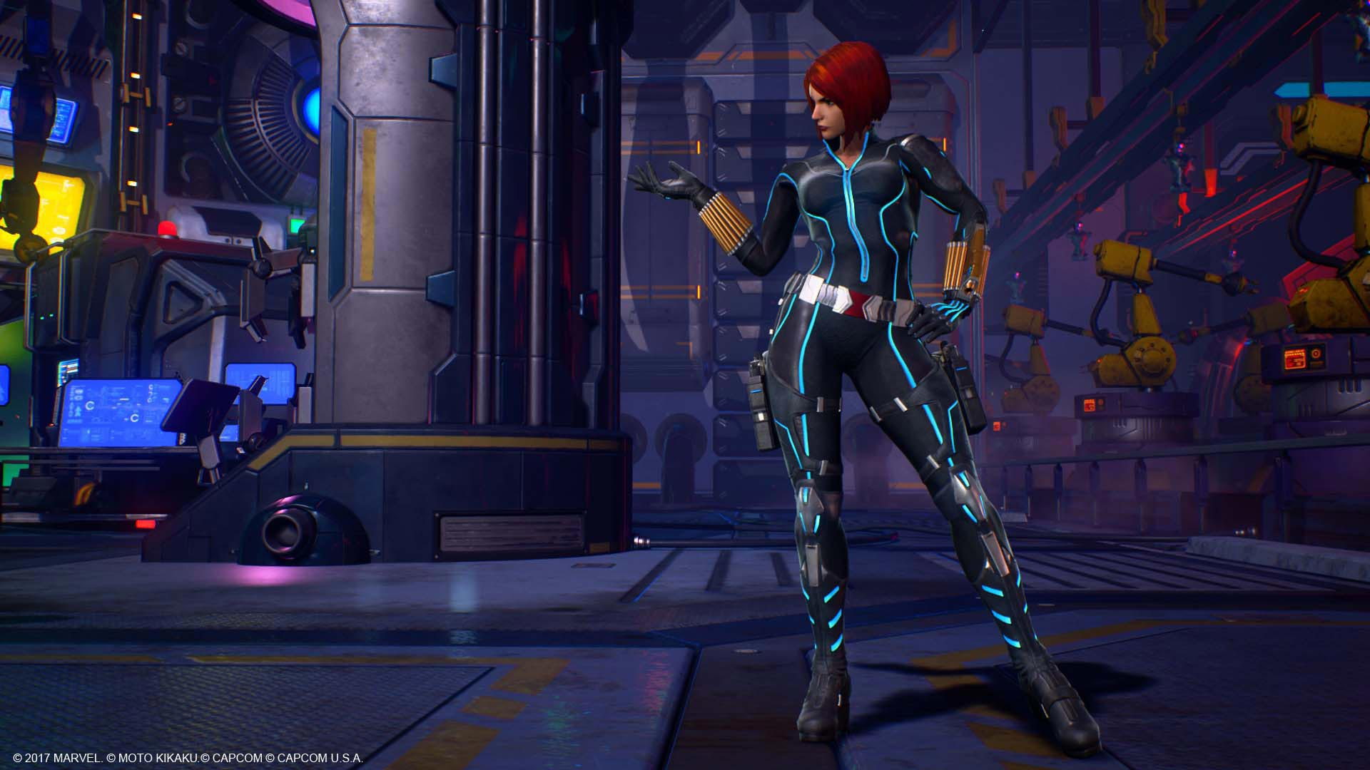 Venom, Black Widow, and Winter Solider in Marvel vs. Capcom: Infinite screenshots 7 out of 13 image gallery