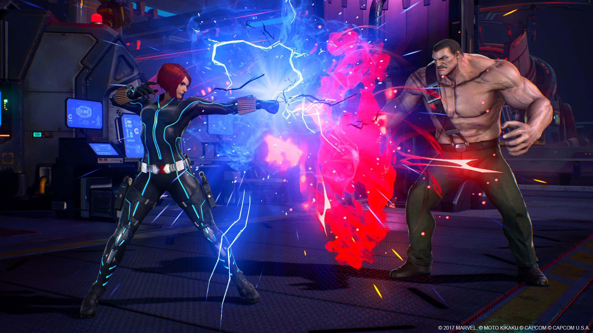 Venom, Black Widow, and Winter Solider in Marvel vs. Capcom: Infinite screenshots 8 out of 13 image gallery