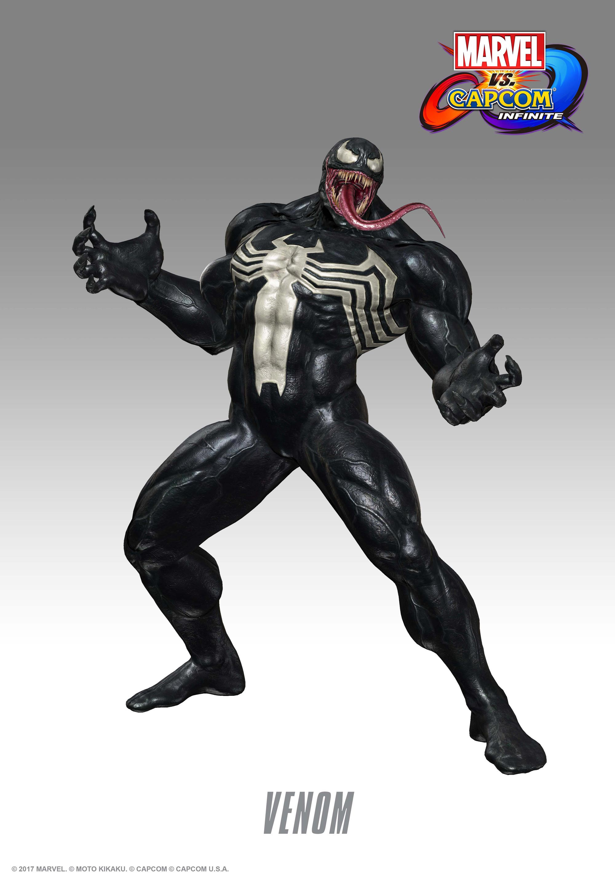 Venom, Black Widow, and Winter Solider in Marvel vs. Capcom: Infinite screenshots 9 out of 13 image gallery