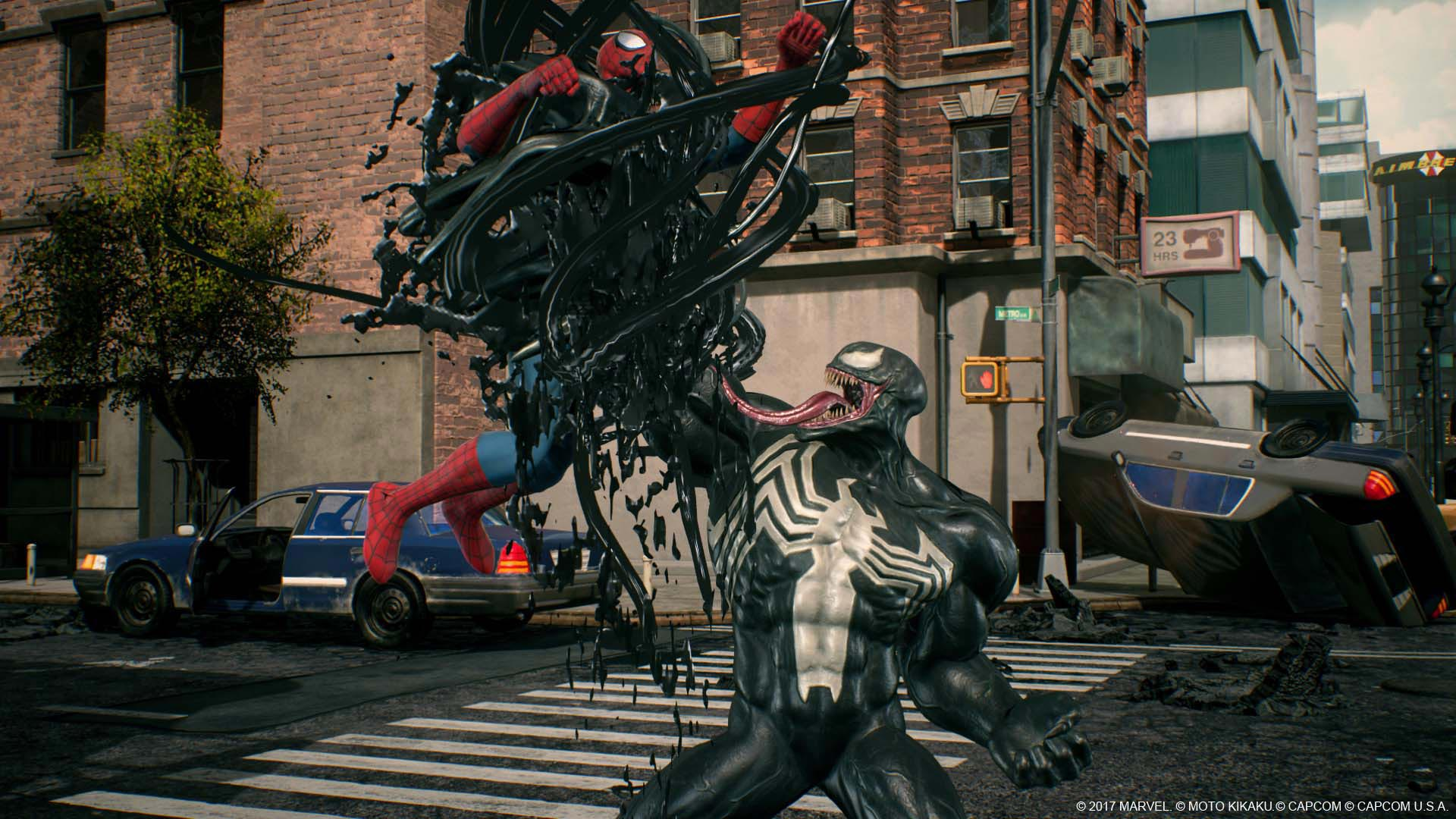 Venom, Black Widow, and Winter Solider in Marvel vs. Capcom: Infinite screenshots 11 out of 13 image gallery