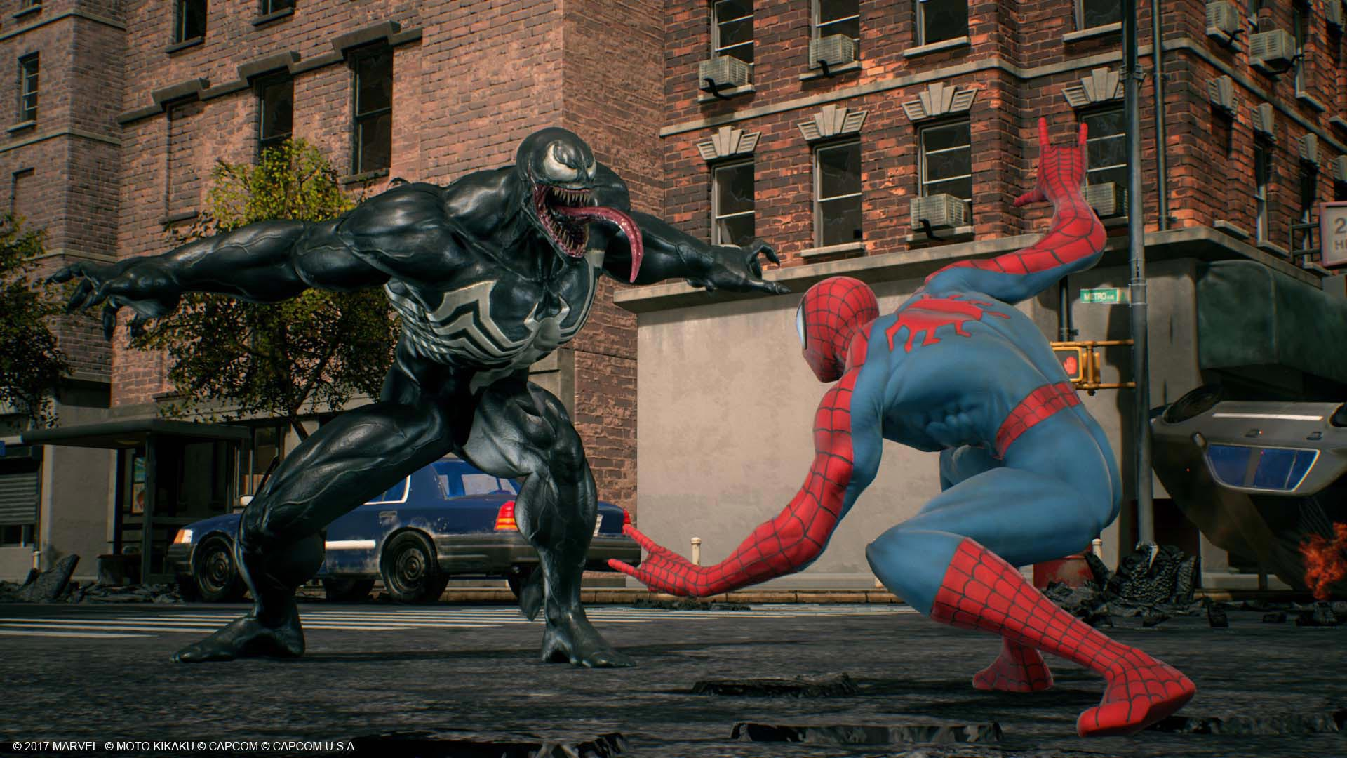 Venom, Black Widow, and Winter Solider in Marvel vs. Capcom: Infinite screenshots 12 out of 13 image gallery