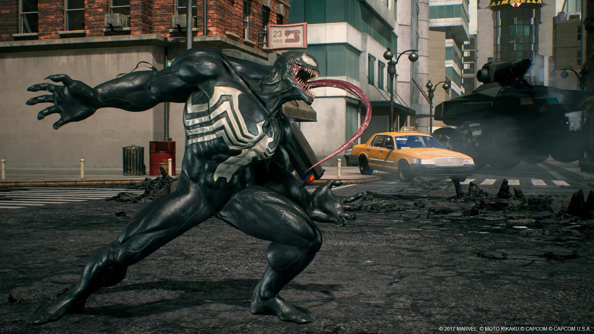 Venom, Black Widow, and Winter Solider in Marvel vs. Capcom: Infinite screenshots 13 out of 13 image gallery