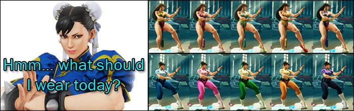 Capcom Really Loves Giving Chun Li Costumes In Street Fighter 5
