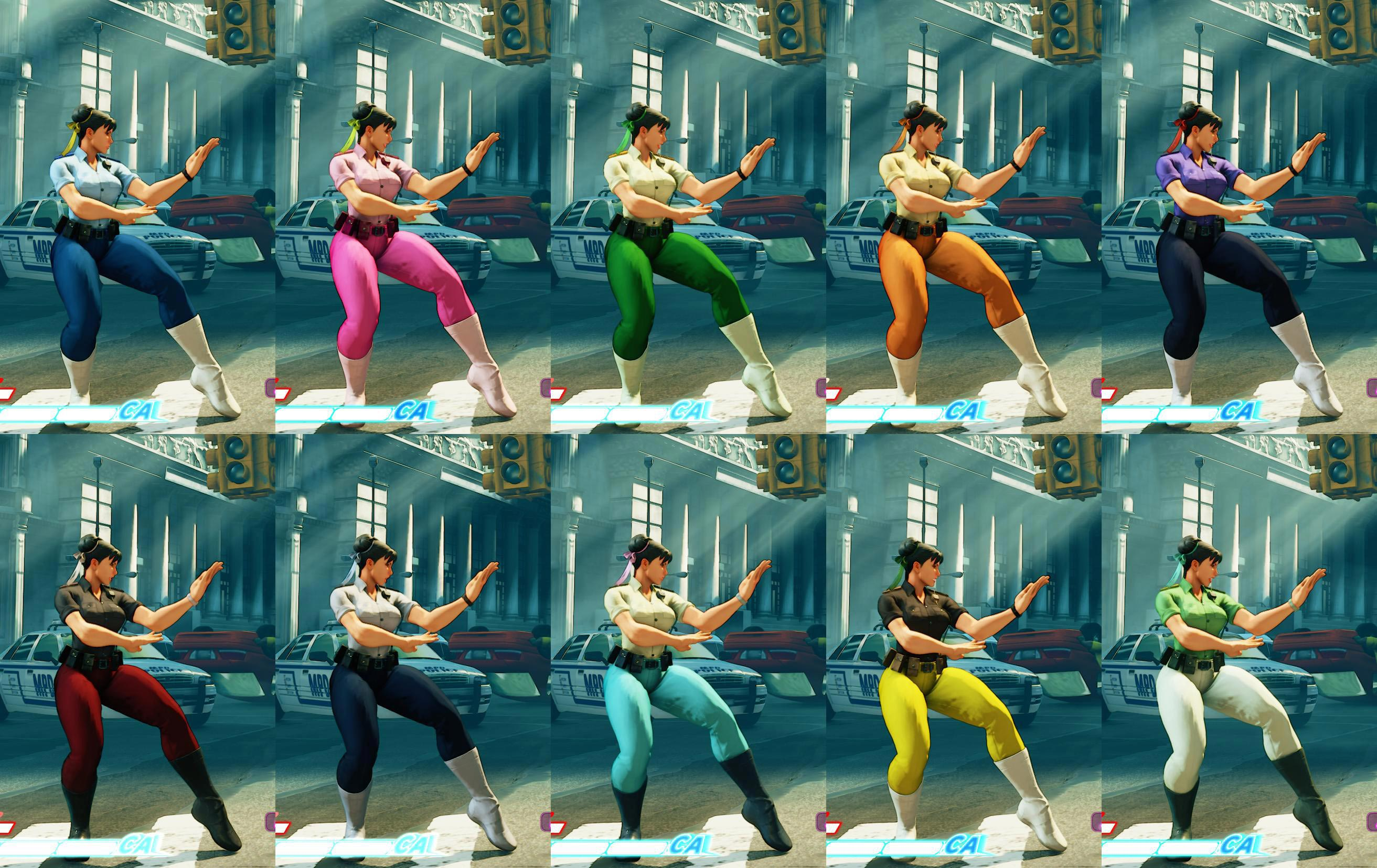 Chun-Li's Street Fighter 5 wardrobe 2 out of 13 image gallery