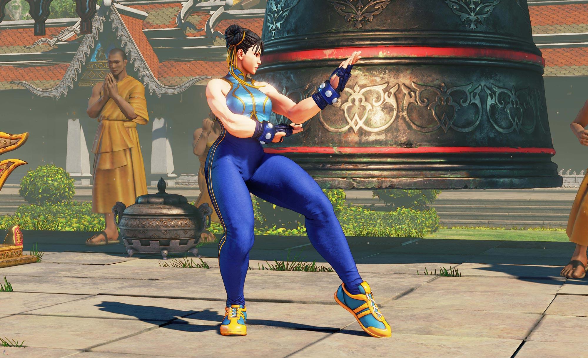 Chun-Li's Street Fighter 5 wardrobe 10 out of 13 image gallery