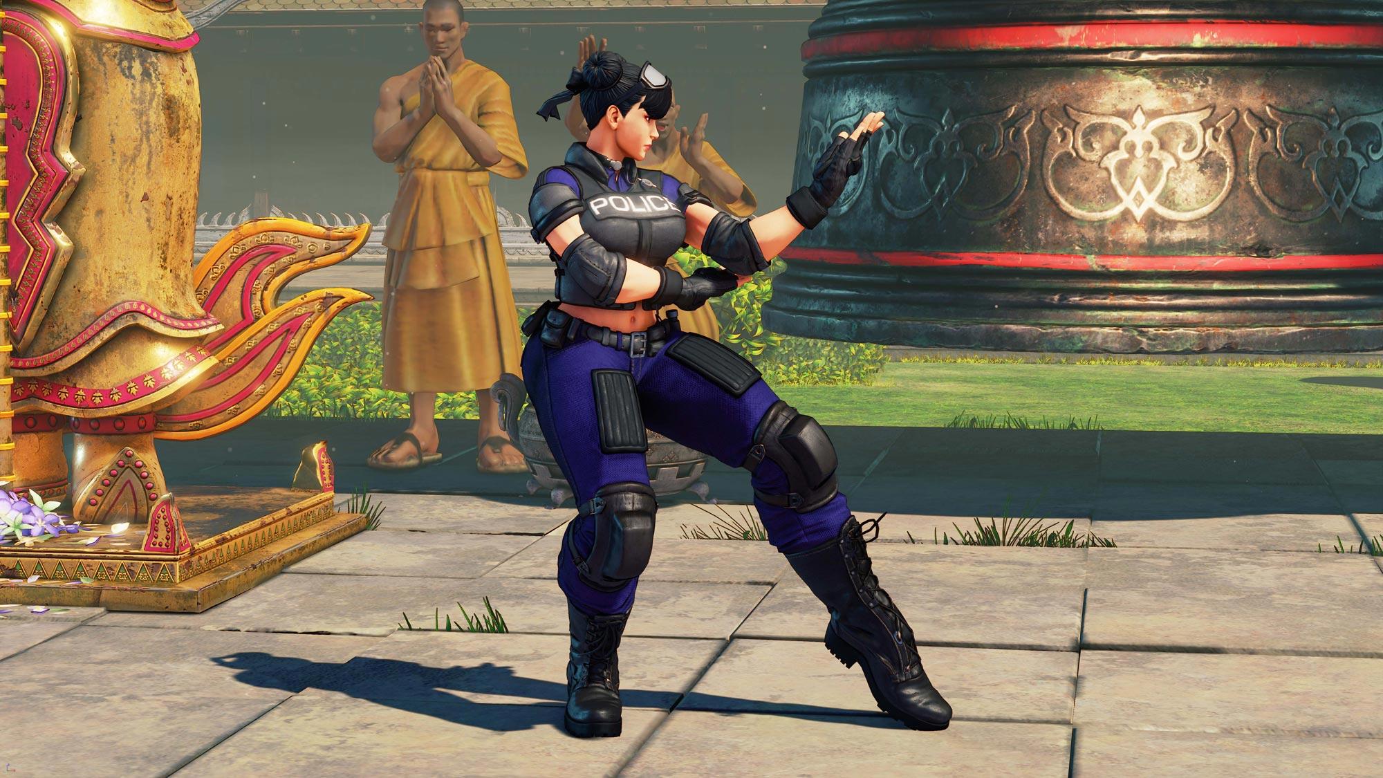 Chun-Li's Street Fighter 5 wardrobe 12 out of 13 image gallery